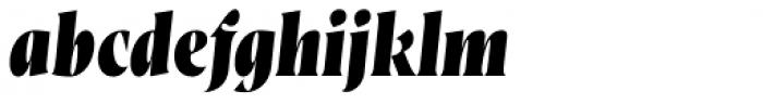 Wayfinder CF Heavy Italic Font LOWERCASE