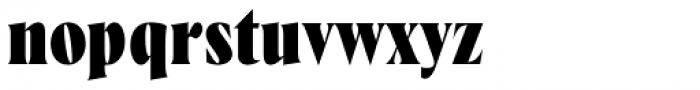 Wayfinder CF Heavy Font LOWERCASE