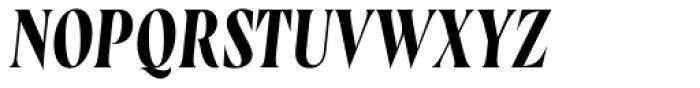 Wayfinder CF Regular Italic Font UPPERCASE