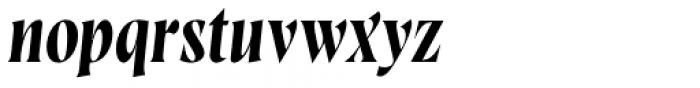 Wayfinder CF Regular Italic Font LOWERCASE