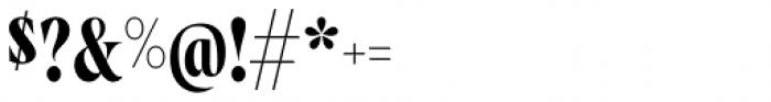 Wayfinder CF Regular Font OTHER CHARS