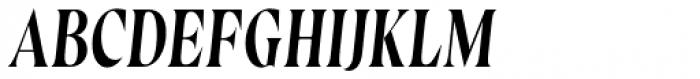 Wayfinder CF Thin Italic Font UPPERCASE