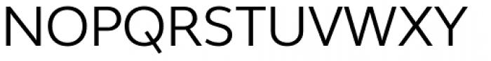 Wayfinding Sans Ex N Regular Font UPPERCASE