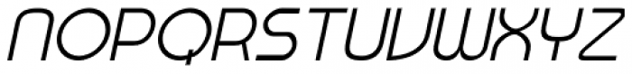 Wayfont Sans Italic Font UPPERCASE