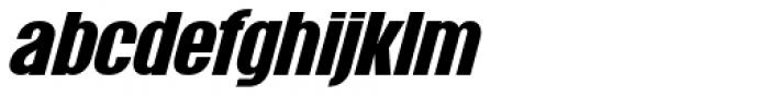 Wayland Italic Font LOWERCASE