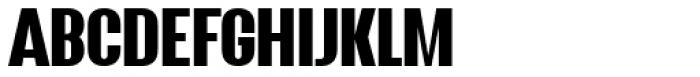 Wayland Regular Font UPPERCASE