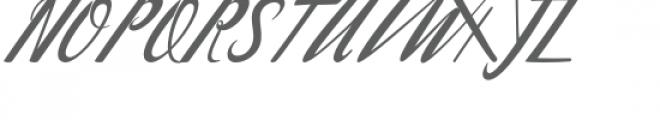 Waterbug Font UPPERCASE