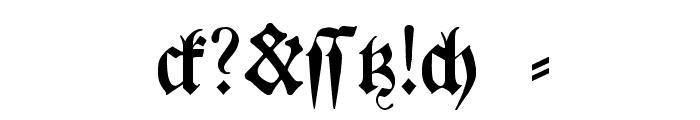 BreitkopfFrakturWF Font OTHER CHARS