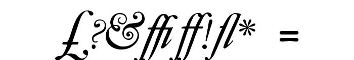 CaslonSwashItalicWF Font OTHER CHARS