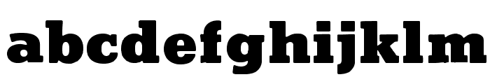 CutrightWF-Bold Font LOWERCASE