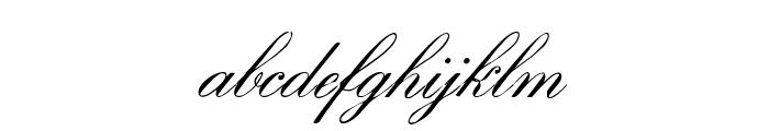 EnglishHandWF Font LOWERCASE