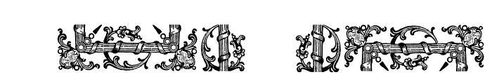 GarlandBorderWF Font OTHER CHARS