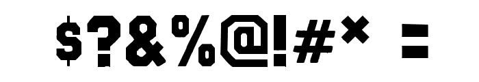 GraveneyWF Font OTHER CHARS