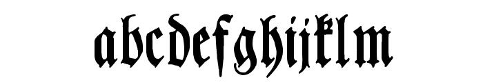 LutherscheFrakturWF Font LOWERCASE