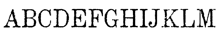 MatchwoodWF Font UPPERCASE