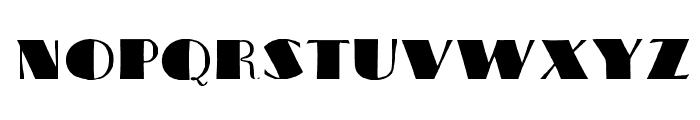 MaximinoWF Font UPPERCASE