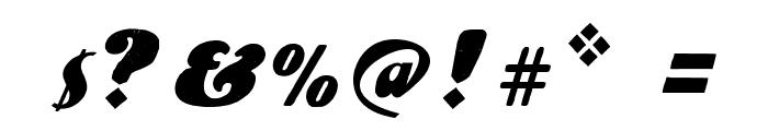 UlaScriptWF Font OTHER CHARS