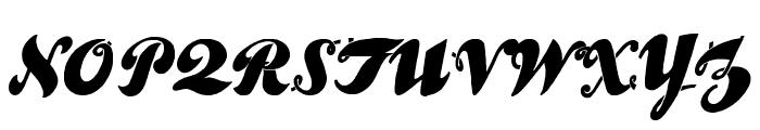UlaScriptWF Font UPPERCASE