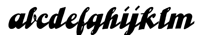 UlaScriptWF Font LOWERCASE