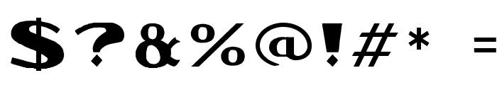 ZipnutWF Font OTHER CHARS