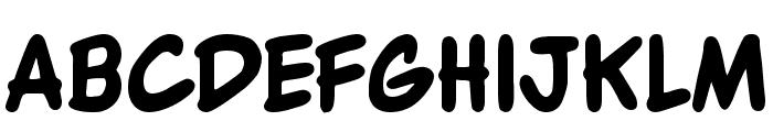 WBXKomik Font UPPERCASE