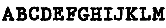 WBX_GrannyT Bold Font UPPERCASE
