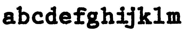 WBX_GrannyT Bold Font LOWERCASE