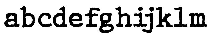 WBX_GrannyT2 Font LOWERCASE