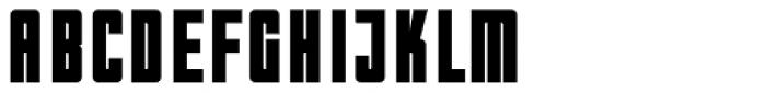 WBP Nel Heavy Font UPPERCASE