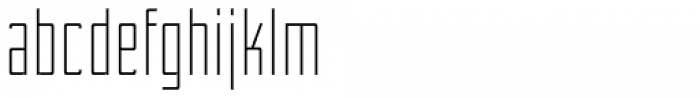 WBP Nel Light Font LOWERCASE