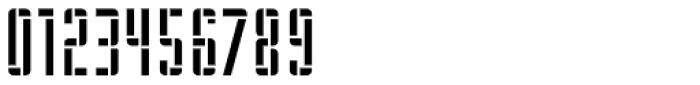 WBP Nel Regular Brickbuild Font OTHER CHARS