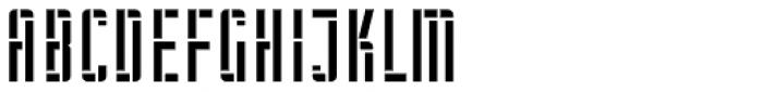 WBP Nel Regular Brickbuild Font LOWERCASE