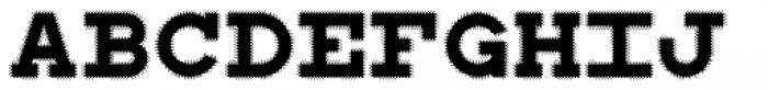 WBP Sight Font UPPERCASE