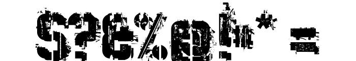 WC Wunderbach Mix Bta DemiBold Font OTHER CHARS