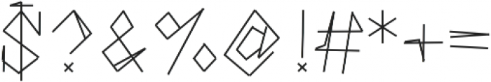 WeAreTomJones ttf (400) Font OTHER CHARS