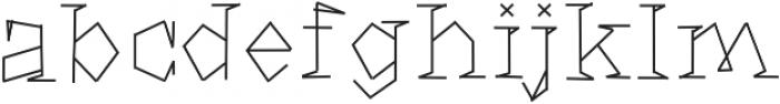 WeAreTomJones ttf (400) Font LOWERCASE