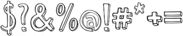 Weak otf (400) Font OTHER CHARS