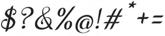 Wedding Font Italic otf (400) Font OTHER CHARS