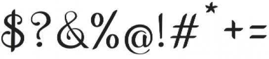 Wedding Font Regular otf (400) Font OTHER CHARS
