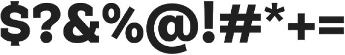 Weekly Alt Black otf (900) Font OTHER CHARS