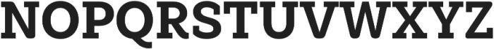 Weekly Alt ExtraBold otf (700) Font UPPERCASE