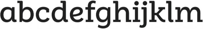 Weekly Alt SemiBold otf (600) Font LOWERCASE