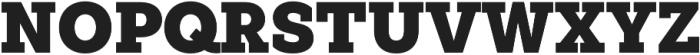 Weekly ExtraBlack otf (900) Font UPPERCASE