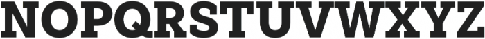 Weekly Pro Black otf (900) Font UPPERCASE