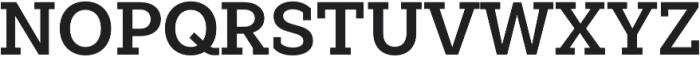 Weekly Pro Bold otf (700) Font UPPERCASE