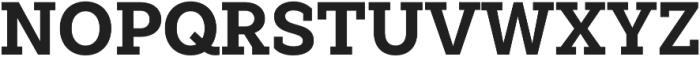 Weekly Pro ExtraBold otf (700) Font UPPERCASE