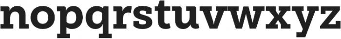 Weekly Pro ExtraBold otf (700) Font LOWERCASE