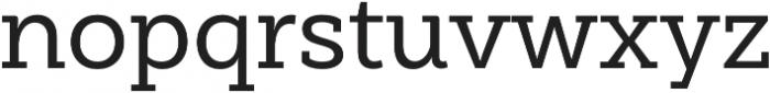 Weekly Pro Medium otf (500) Font LOWERCASE