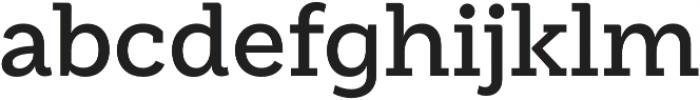 Weekly Pro SemiBold otf (600) Font LOWERCASE