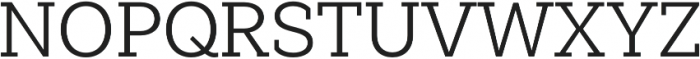 Weekly Pro otf (400) Font UPPERCASE